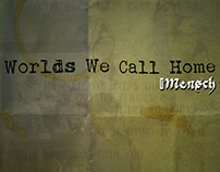 Worlds We Call Home Album Cover for Dave Mensch