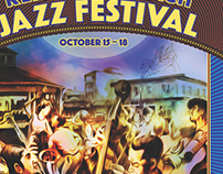 Rehoboth Beach Jazz Festival Posters