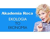 Roca - landing page, banner