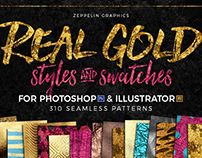 Real Gold 310 Styles & Swatches