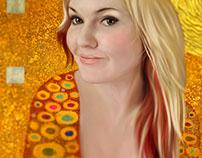 Anastasiya + Gustav Klimt