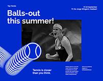 Tennis Vlaanderen / Branding