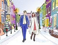 Robyn Neild - A Wedding on Christmas Street