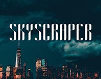 Skyscraper typeface design