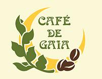 Muanl de Identidade Visual - Café de Gaia