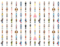 Pixel Humans
