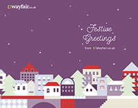 X-mas Card for Suppliers of Wayfair