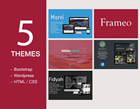 5 Best Themes Bootstrap, Wordpress, Html/Css