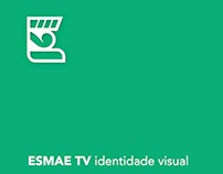 ESMAE TV 2015 - identidade visual