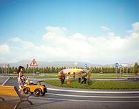 Traffic Training Track For Children