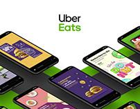 Uber Eats - Digital Content