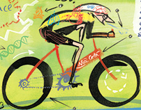 Tintin, Tour de France and other illustrations