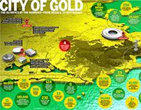 City of Gold Illustration
