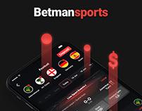 Betmansports product design