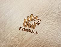 Financial Bull Logo Design