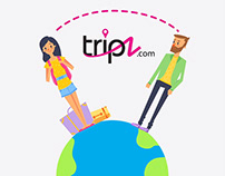 Tripz.com Mograph Explainer Video