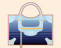Designer Handbag Illustrations #2
