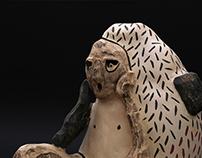 Talks / Разговори (Ceramic sculpture)
