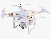 Quadrocopter DJI Phantom 3 Professional