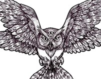 trendy Owl