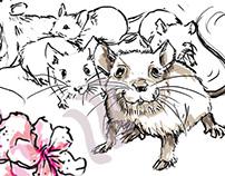 Transmission de la peur chez les souris // 2015