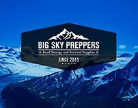 Big Sky Preppers Logo
