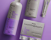 Hair Therapy • Branding and Package Design