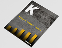 Diseño Revista Komatsu
