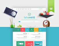 Tahaworld Website Design UX/UI