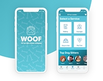 WOOF - Dog Sitting App