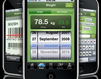 QuickkaCalories iPhone app