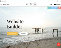 Mobirise Free Website Builder Software v2.8.5 is out!