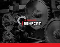 Le Groupe Renfort _ Logo et site Internet