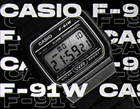 CASIO F-91W [2020]