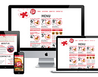 Bigg Burger Website Redesign
