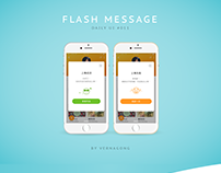 flash message #daily UI 011