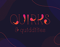 Quiddity - Typeface Design