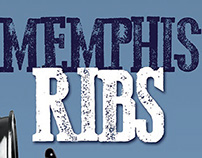 Memphis Ribs book covers