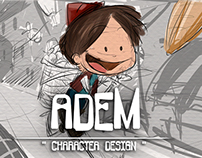 '' Adem '' character designs