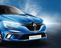 Renault Megane print campaign