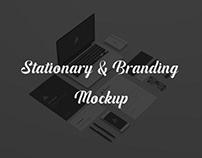 Stationary and Branding Mockup