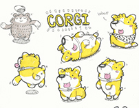 Corgi emoji