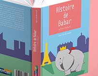 The Story of Babar Book Cover Wrap