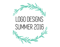 Logo Designs Summer 2016