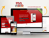 ProVideo Website & Mobile App