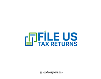 File US Tax Returns Logo Design
