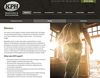 KPH Construction Website