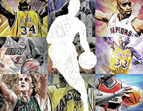 NBA Art Experiments: Vol 1