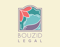 Bouzid Legal Logo Design