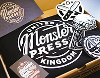 Monster Press - Branding 2016